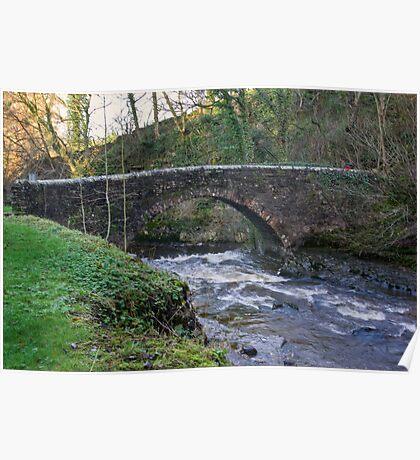 Packhorse Bridge - West Burton Poster