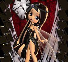 Gothic Fairy Birthday Card By Moonlake Designs by Moonlake