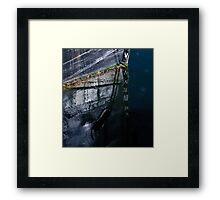 V on V Framed Print