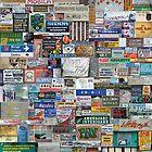 Compendium of local signage by Mihai Florea