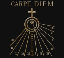 Seize The Day Tee by Christopher Pottruff