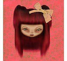 Little Happy Doll Photographic Print