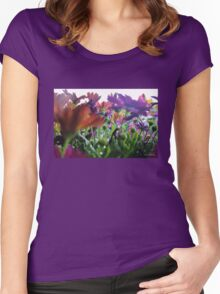 Spring Flowers Women's Fitted Scoop T-Shirt