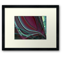abstract glass world Framed Print