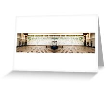 Hammersmith (District and Picadilly) Tube Station Greeting Card