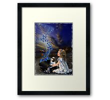 A Little Beach Music Framed Print