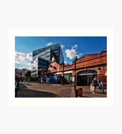 Hammersmith (Circle & Hammersmith&City) Tube Station Art Print