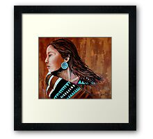 Mariah, Wrapped In Tradition #12 Framed Print