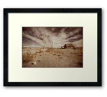 Lost America Framed Print