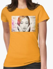 Young woman with colorful hair T-Shirt