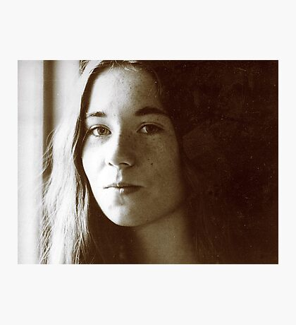 Girl in Light Photographic Print