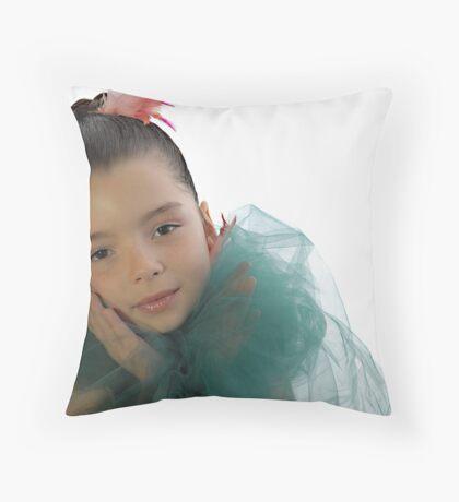 Mon Ange Throw Pillow