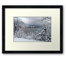 Town Walchensee II Framed Print