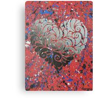 My Tainted Heart Canvas Print