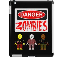 DANGER ZOMBIES iPad Case/Skin