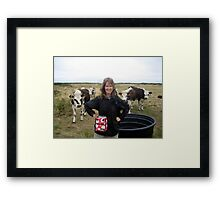 Lovely cows Framed Print
