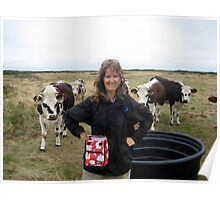Lovely cows Poster