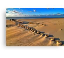Golden RedBubble Beach..... Canvas Print