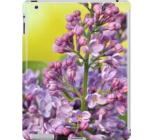 Oh the Aroma of Lilacs iPad Case/Skin