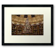 Christmas Tree at West Baden Framed Print