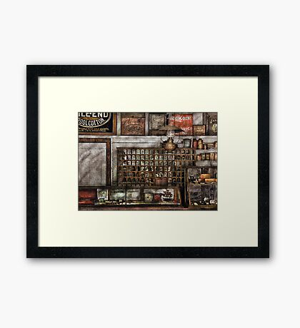 For all of your needs and supplies Framed Print