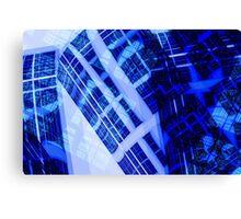 Cobalt Towers Canvas Print