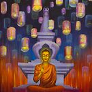 Light of Buddha by Yuliya Glavnaya