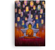 Light of Buddha Canvas Print