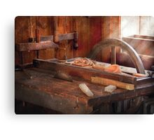 Woodworker - The Table Saw Canvas Print