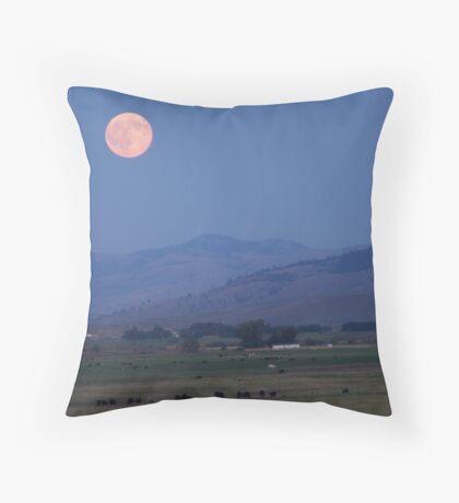 Blue Mountain Blessings Throw Pillow