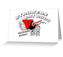 strokers ad art Greeting Card