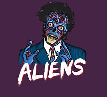 BECAUSE ALIENS Unisex T-Shirt