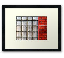 Common Wall Framed Print
