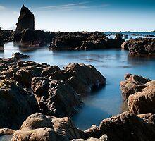 Rocky coastline by John Violet