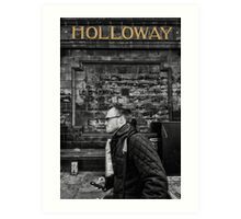 Holloway Road Tube Station Art Print