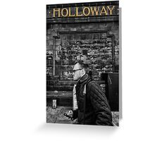 Holloway Road Tube Station Greeting Card