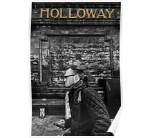 Holloway Road Tube Station Poster