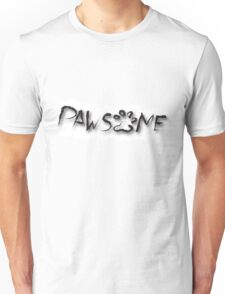 Pawesome Text Tee Unisex T-Shirt