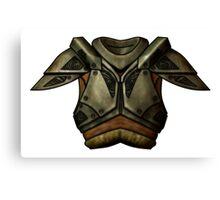 Skyrim Steel Armor Canvas Print