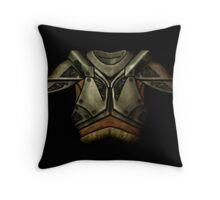 Skyrim Steel Armor Throw Pillow