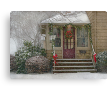 Winter - Dreaming of a White Christmas Canvas Print