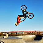 Back Flip Biker by gladyanne