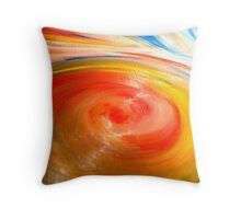 Paint Visuals - Vortex Throw Pillow