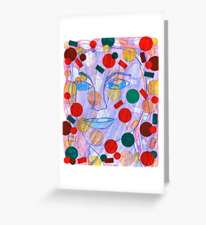 Multi-Colored Possibilities Greeting Card