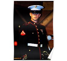 Young Marine Poster