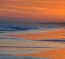 Sunset Canvas - Redhead Beach NSW Australia by Bev Woodman