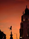 October evening in Piccadilly Circus by Themis
