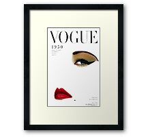 Blumenfeld recreated Framed Print