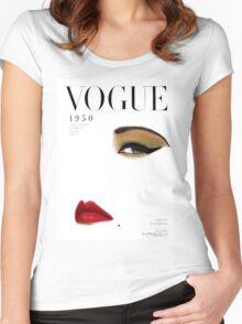 Blumenfeld recreated Women's Fitted Scoop T-Shirt