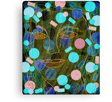 Pretty Bubbles in the Mud Canvas Print